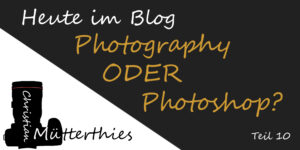 Photography oder Photoshop