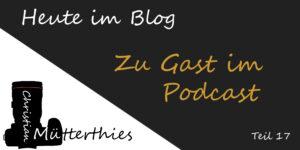 zu Gast im Podcast